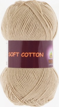 Soft Cotton (Vita) 1807, пряжа 50г