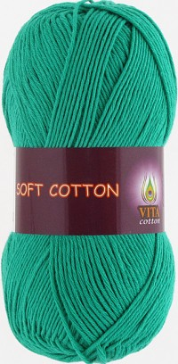 Soft Cotton (Vita) 1819, пряжа 50г