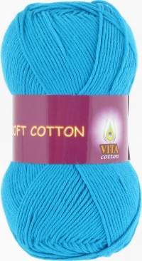 Soft Cotton (Vita) 1823, пряжа 50г