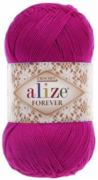 Forever (Alize) 149 фуксия, пряжа 50г