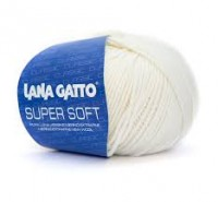 Super Soft (Lana Gatto) 10001, пряжа 50г