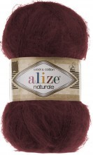 Naturale (Alize) 367 бордо, пряжа 100г